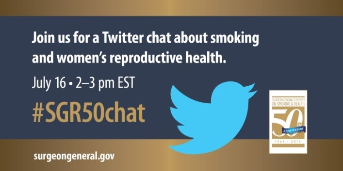 Join our Twitter Chat on smoking and women's reproductive health