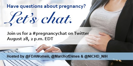 Join our Twitter chat on pregnancy
