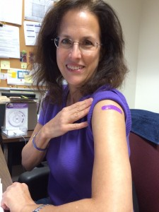 got my flu shot