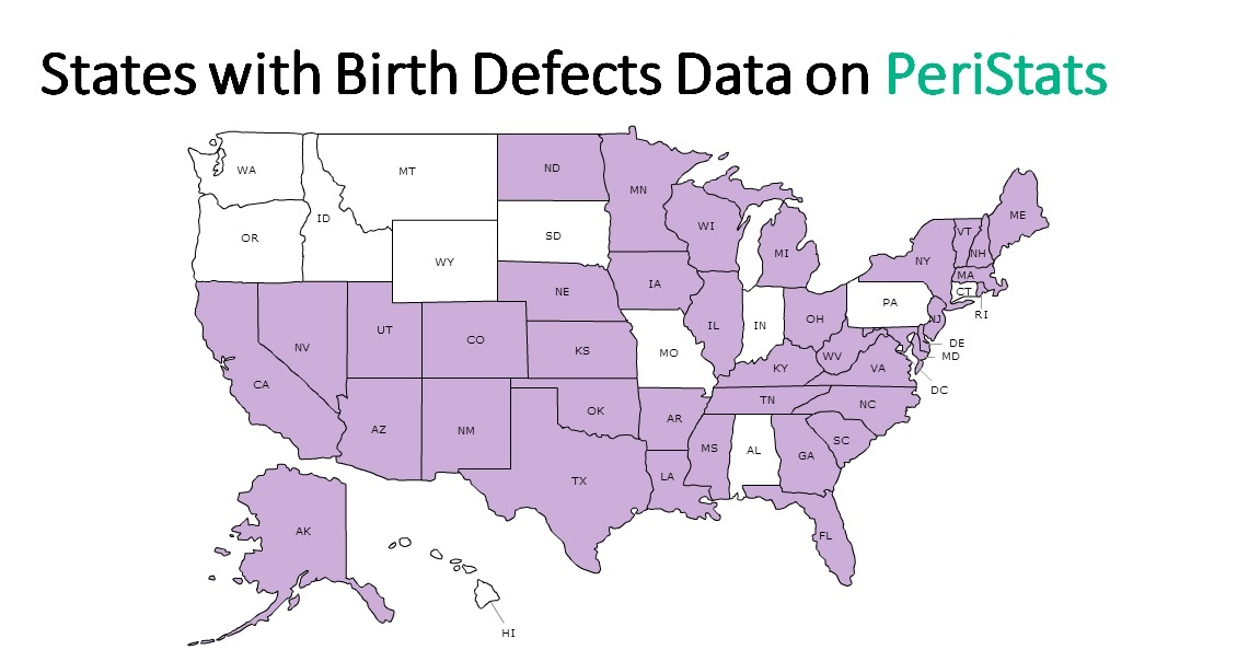 Tracking birth defects helps states help you