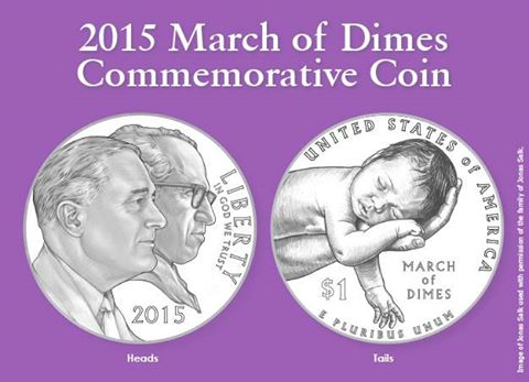 Get your piece of March of Dimes history