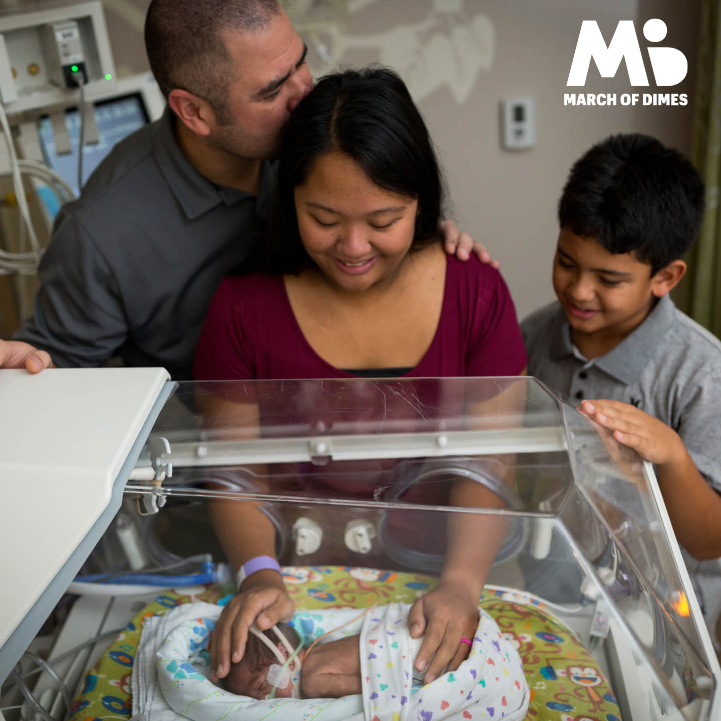 Having a baby in the NICU can be stressful for siblings