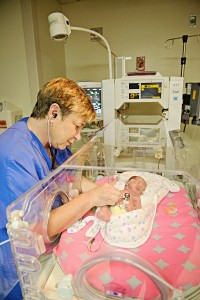 NICU doctor and baby resized