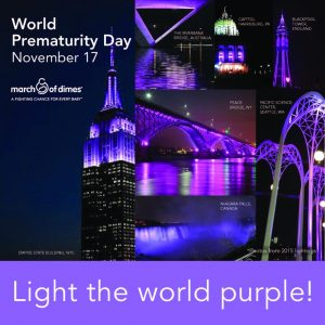 Light the world purple