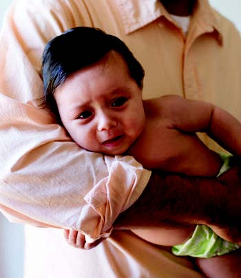 What causes gas in breastfed babies?
