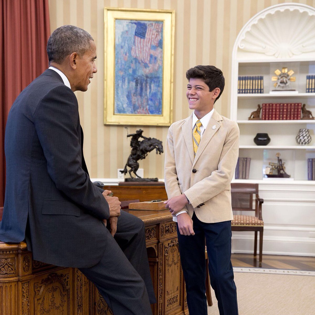 Our National Ambassador meets Pres. Obama at the White House – visit highlights Zika
