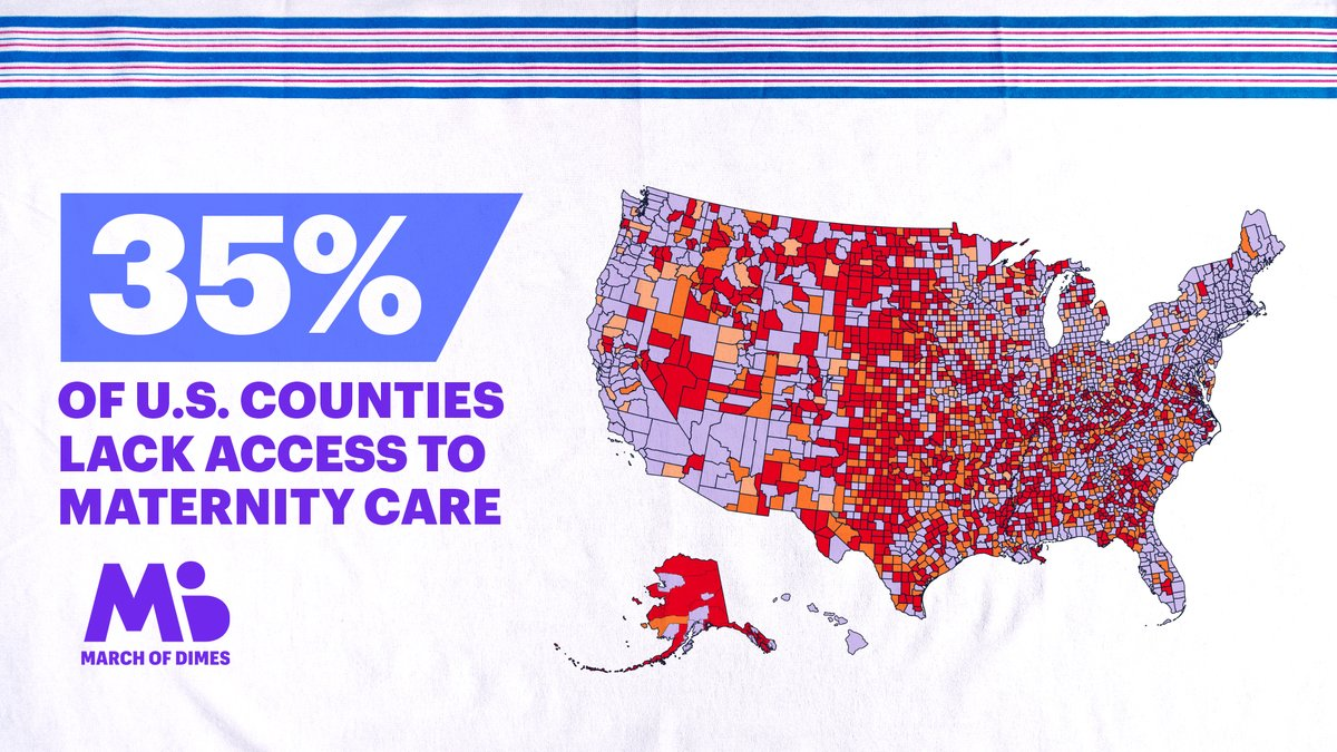 Do you live in a maternity care desert?